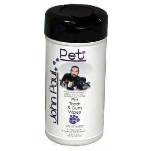 John Paul Pet Tooth and Gum Wipes for Pets: Pet Supplies