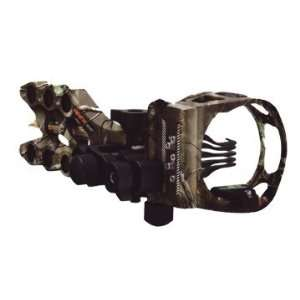 Apex Gamechanger Bow Sight 5 Pin .019 Black AG2605BK