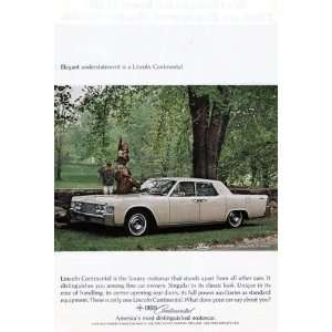 Continental Vintage Ad   (Ford Motor Company) # 85