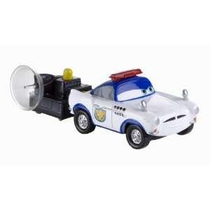 Disney Pixar Cars 2 Action Agents   Security Guard Finn Toys & Games