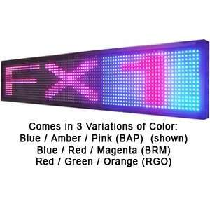 FX1 Programmable 3 Color LED Window Sign Display (BAP) 15