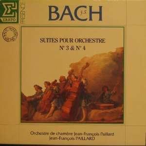 SUITES POUR ORCHESTRE NOS 3 & 4 (THREE & FOUR) J.S. Bach