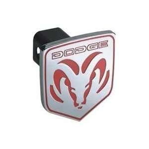 Dodge Ram Logo Hitch Cover Plug   Chrome   Fits 1 1/4 or