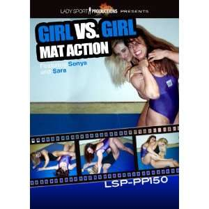 Women Wrestling DVD   Girl vs. Girl Mat Action   LSP PP150   featuring