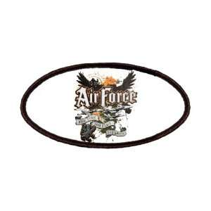 Patch of Air Force US Grunge Any Time Any Place Any Where