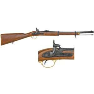 CIVIL WAR MUSKETOON   ENFIELD 1860 NON FIRING REPLICA GUN