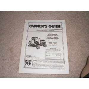 Illustrated Parts List Transmatic Twin Cylinder Front Engine Lawn
