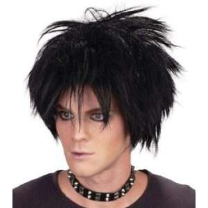 Rock Star The Cure Fancy Dress Wig Inc FREE Wig Cap Toys & Games