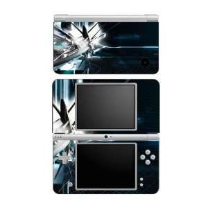 DSi XL Skin Decal Sticker   Abstract Tech City