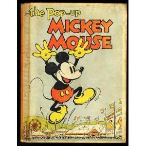 Pop up Mickey Mouse Walt Disney Studios, Disney Books