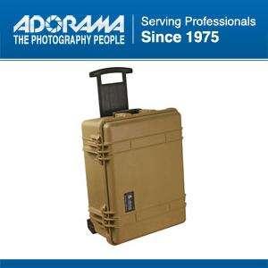 1560LOC Laptop Watertight Hard Travel Case, Desert Tan #1560 006 190