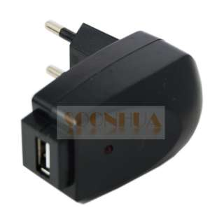 EU Europe USB AC Wall Charger Adapter  Mobile Phone