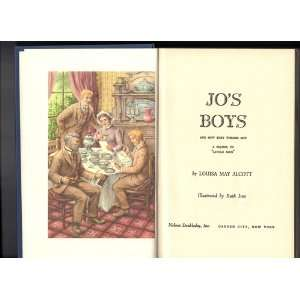 Jos Boys, a Sequel to Little Men louisa alcott Books