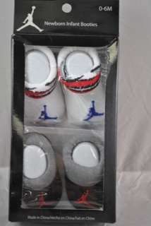 Nike AIR JORDAN JUMPMAN Infant Booties 0 6 months