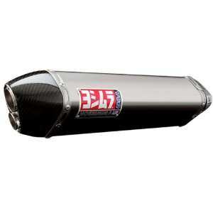 Yoshimura TRC D Polished Stainless Steel Slip on Exhaust System