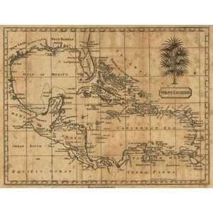 Andrew Arrowsmith   Caribbean 1806 Canvas