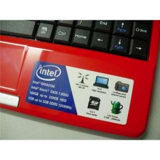 10 Mini Notebook Laptop Netbook N270 1GB DDR2 Wi Fi