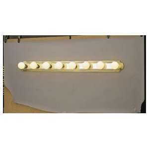 Forte Lighting 5245 08 25 Polished Brass / Chrome Bath and