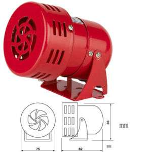 safe alarm buzzer ac 110 volts Mini Siren
