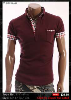 DOUBLJU Mens Casual Best Polo shirts Collection 2