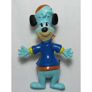 Hanna Barbera Huckleberry Hound 4in Rubber Posable Figure