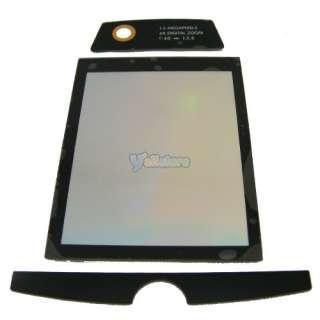 FRONT LCD SCREEN COVER GLASS LENS FOR MOTOROLA MOTO Q