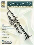 Ballads Trumpet Play Along Sheet Music Song Book CD NEW