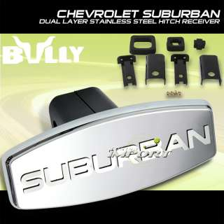 BULLY STAINLESS 1.25 2 HITCH COVER CHEVY GMC SUBURBAN