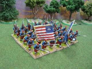 ACW DPS Painted American Civil War Zouaves 1861 1865 ACW011