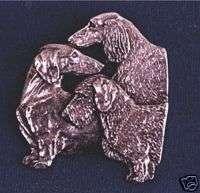 Dachshund Trio necklace #18C Dog Jewelry Scent Hound