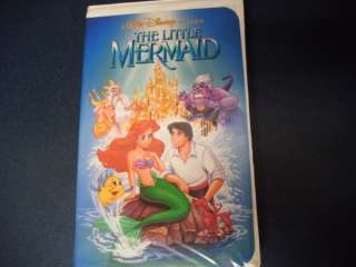 Original BANNED Cover 1990 Disney The Little Mermaid VHS Clamshell