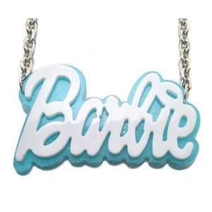 Script Letters Acrylic Barbie and 20 Inch Necklace Chain Nicki Minaj