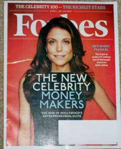 Forbes Magazine 100 Richest Stars Celebrity Jun 6 2011