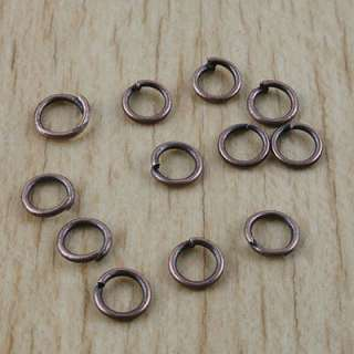 description2 00pcs copper tone finding jump rings h2915