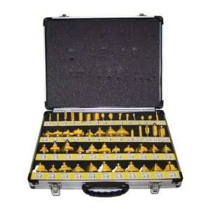 Inch Shank 50 Pcs Carbide Router Bits Set with Case