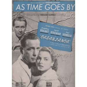 Casablanca As Time Goes By featuring Humphrey Bogart & Ingrid Bergman