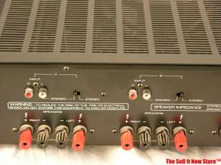 Rotel Audiophile Power Amplifier Amp RB 956AX 6 channel Home Theater