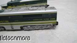 AMERICAN FLYER LINES TRAIN ROCKET 474 & 475 ROCKET DIESEL ENGINES