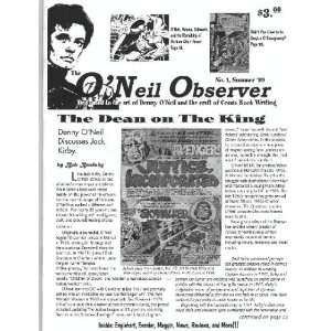 Denny O Neil and the Craft of Comic Book Writing) Bob Brodsky Books