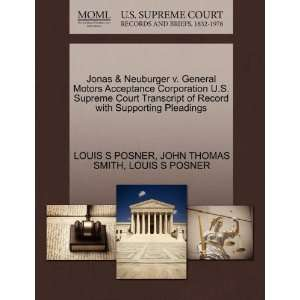 Pleadings (9781270248842): LOUIS S POSNER, JOHN THOMAS SMITH: Books