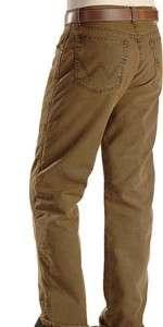 WRANGLER Mens JEANS 36 X 36  FITS OVER BOOTS New Khaki