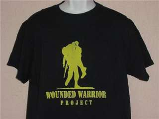 WOUNDED WARRIOR PROJECT SERVICE MEN WAR ARMY NAVY MARINES AIR FORCE T