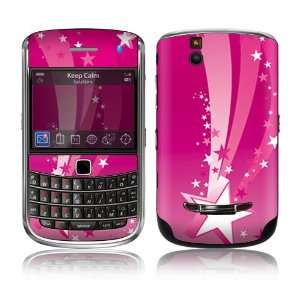 BlackBerry Bold 9650 Skin Decal Sticker   Pink Stars: Everything Else