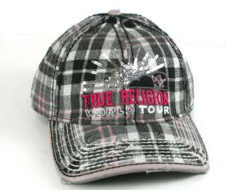 True Religion Brand Jeans HAT Cap WORLD TOUR Sequin
