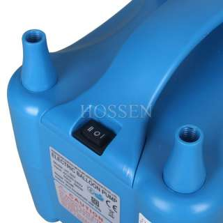220V 680W Two Nozzle Balloon Inflator Electric Balloon Pump Portable