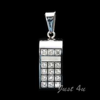 Swarovski Crystal Whistle Stainless Steel Pendant