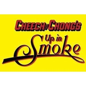 Cheech & Chong Up in Smoke Yellow Refrigerator Magnet