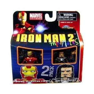 Marvel Minimates Series 35 Mini Figure 2Pack Iron Man Mark