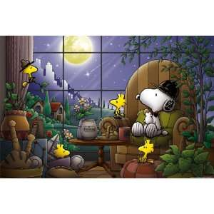 Snoopy Design 300 Pieces Jigsaw Puzzle (Finished Size 15