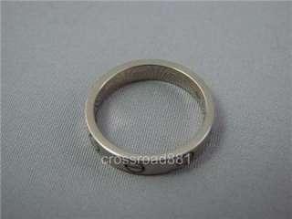 Ladies 18K White Gold Cartier Love Ring Beautiful SZ 50